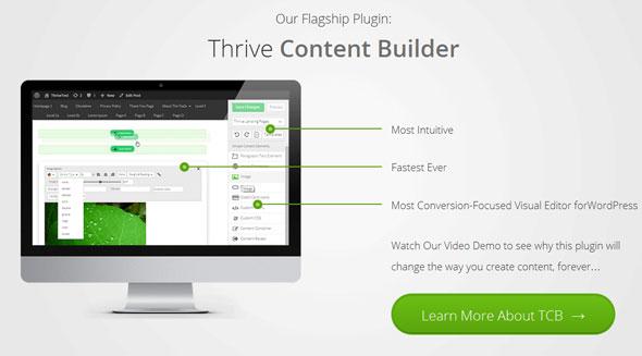 Thrive Content Builder Plugin