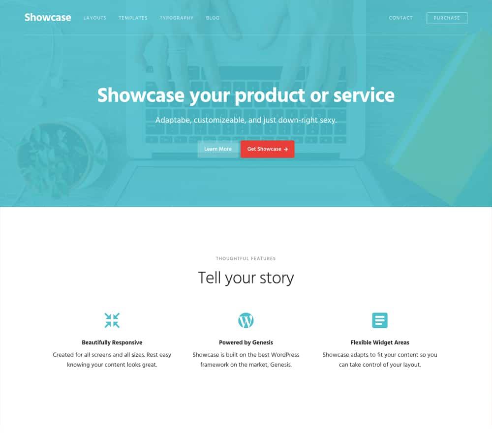 Showcase Pro Theme StudioPress